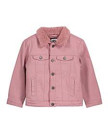 Big Girl's Jessie Sherpa Denim Jacket
