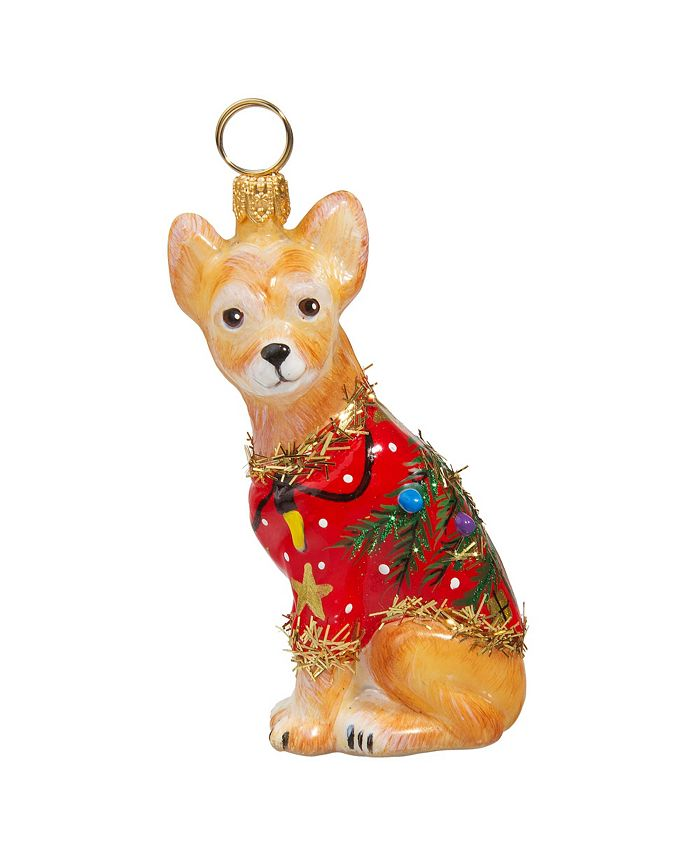 Joy to the World - Chihuahua Ugly Christmas Sweater