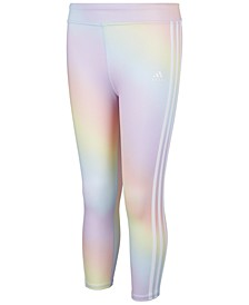 Big Girls Rainbow Tights