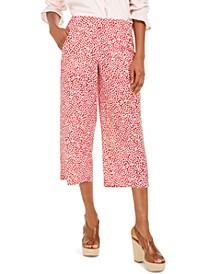 Printed Culotte Pants