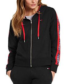 Tommy Hilfiger Sport Logo Zip Hoodie