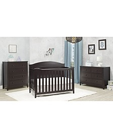 Berkley Round Top Panel Crib
