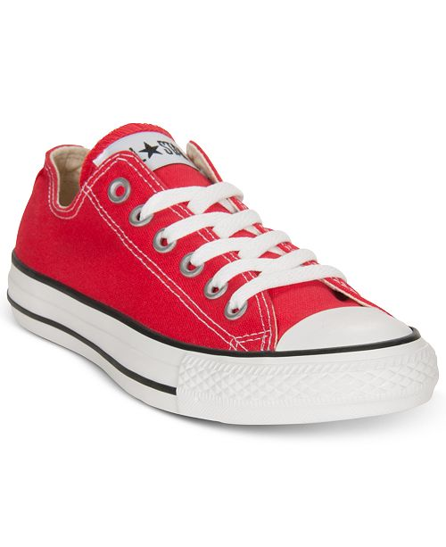 the latest e572d 1be96 ... Converse Womens Chuck Taylor All Star Ox Casual Sneakers from Finish  ...