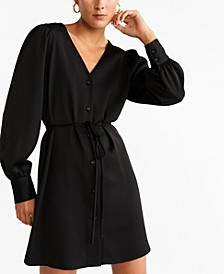 Short Buttoned Dress