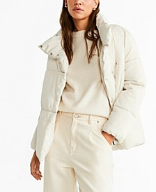 Globes Quilted Anorak Jacket