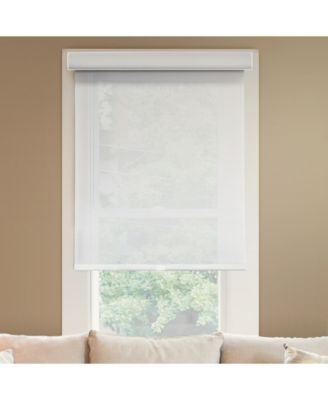 Cordless Roller Shades, No Tug Privacy Window Blind, 60