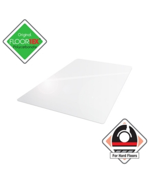 Floortex Cleartex Ultimat Polycarbonate Rectangular Chair Mat Bedding