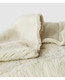 Natural Child's Happy Lamb Fleece Mattress Topper, Crib Size