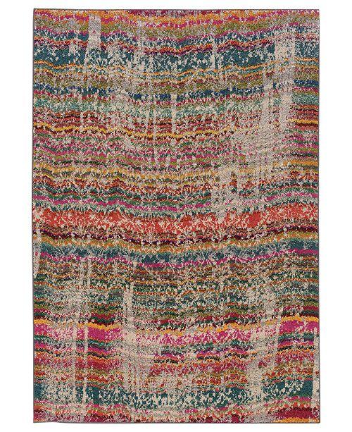 Oriental Weavers Rugs, Kaleidoscope 5992F Streaked Stripes