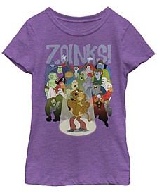 Big Girls Scooby Doo Bad Crowd Short Sleeve T-shirt