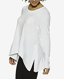 Essentials Asymmetrical Modal Lounge Tunic