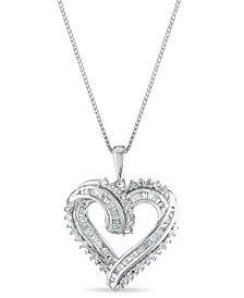 Diamond 1/2 ct. t.w. Pendant in Sterling Silver