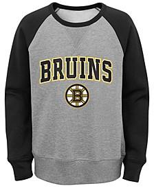 Big Boys Boston Bruins Chief Crewneck Sweatshirt