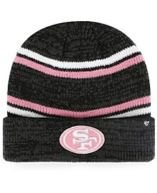 San Francisco 49ers Marled Stripe Cuff Knit Hat