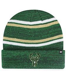 Milwaukee Bucks Marled Stripe Cuff Knit Hat