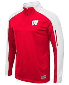 Men's Wisconsin Badgers Promo Quarter-Zip Pullover