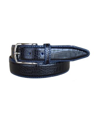 Mens 100/% Real Leather Italian Belt Made in Italy Tan Brown Blue Black Jeans