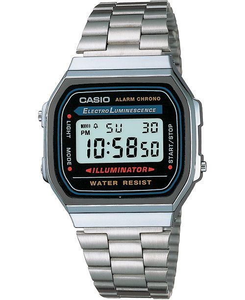 Casio Unisex Digital Stainless Steel Bracelet Watch 32mm