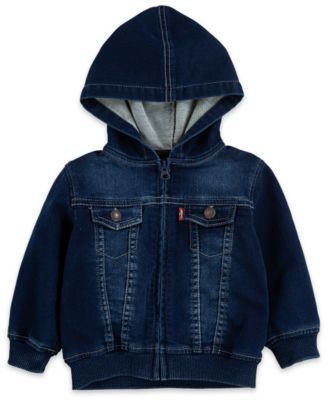 Moon and Back Baby Reversible Jacket with Hood Pink Blush,