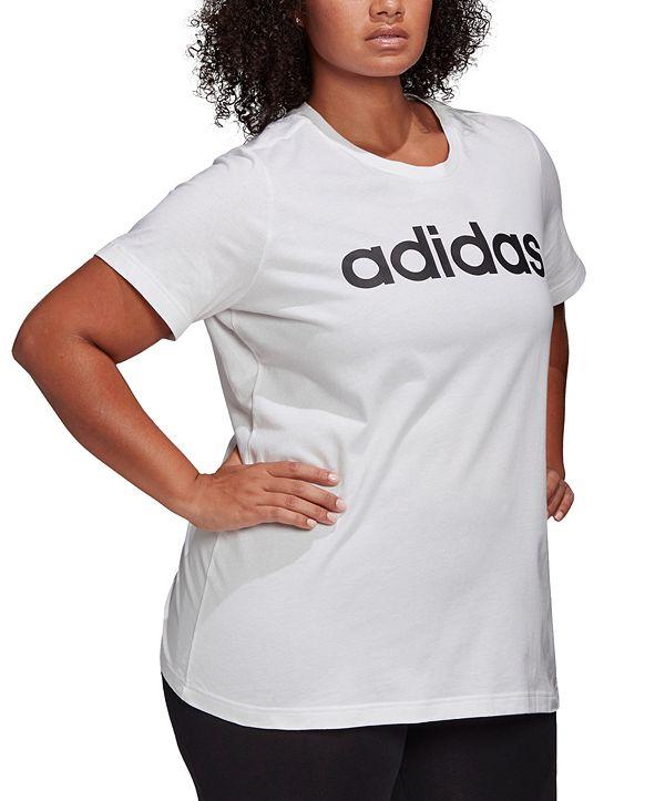 adidas Women's Plus Size Essentials Cotton T-Shirt