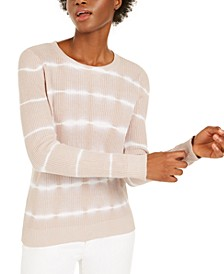 INC Cotton Tie-Dye Pullover Top, Created for Macy's