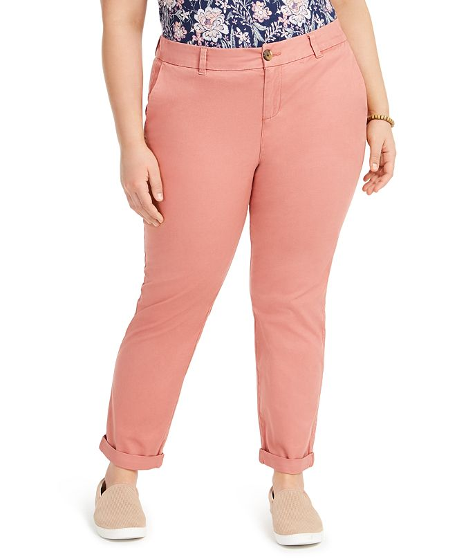 Style & Co Plus Size Chino Pants, Created for Macy's