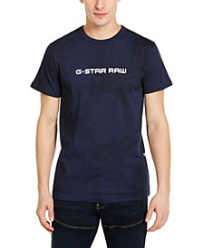 Men's Rodis Tonal Tropical Logo T-Shirt