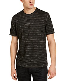 INC Men's Striped Burnout T-Shirt, Created for Macy's