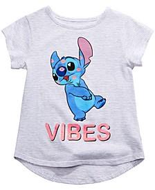 Little Girls Stitch Vibes T-Shirt