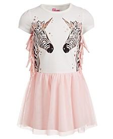 Little Girls Zebra Tutu Dress, Created for Macy's