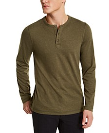 Men's Three-Button Henley