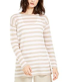 Organic Striped Tunic, Regular & Petite