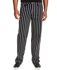 Men's Striped Carpenter Pants
