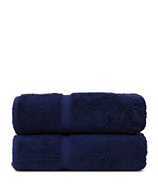 Luxury Hotel Spa Towel Turkish Cotton Bath Towels, Set of 2