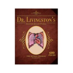 Genius Games Dr. Livingston's Human Anatomy Jigsaw Puzzles - The Human Thorax