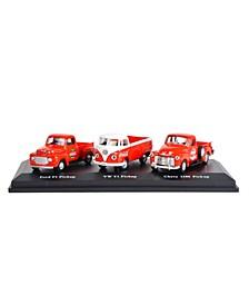 1/72 Scale Classic Pickups Diecast Set