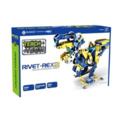 Teach Tech Rivet-Rex 12 Hydro-Mechanical Solar Robot Kit Stem Educational Toys