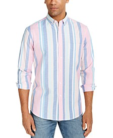 Men's Joey Stripe Oxford Shirt, Created for Macy's