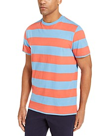 Men's Two-Tone Stripe T-Shirt, Created for Macy's