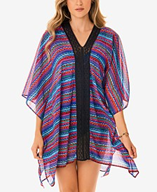 Carnivale Caftan Swim Cover-Up