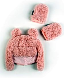Super Soft Plush Sherpa Hat Mittens Set