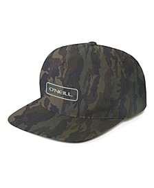 Men's Hybrid Stretch Camo Snapback Hat