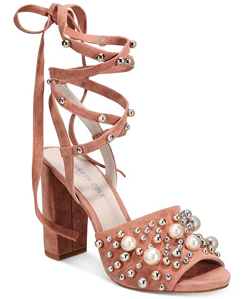 Kenneth Cole New York Women's Dierdre Heeled Sandals