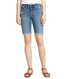 Avery Bermuda Denim Shorts