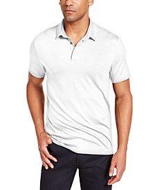 Men's AlfaTech Stretch Solid Polo Shirt, Created for Macy's