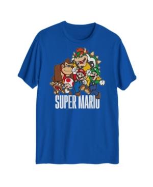Super Mario Group Men's Graphic T-Shirt