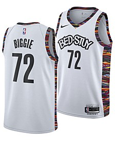 Men's Biggie Smalls Brooklyn Nets City Edition Swingman Jersey