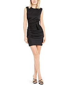 Marella Rouche Belted Sleeveless Dress