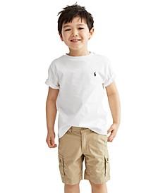 Toddler Boys Crew-Neck Tee