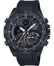 G-Shock Men's Solar Analog-Digital Black Resin Strap Watch 48mm